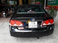 Bán Honda Civic 2.0AT sản xuất năm 2007, màu đen, xe nhập