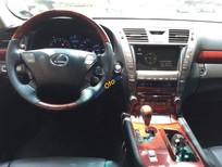 Bán Lexus LS 460L đời 2007, màu đen, nhập khẩu chính hãng