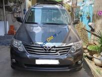 Cần bán Toyota Fortuner V đời 2012, màu xám