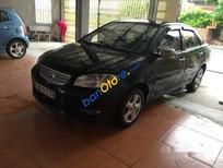 Bán xe Toyota Vios MT năm 2005, màu đen số sàn, giá 186tr