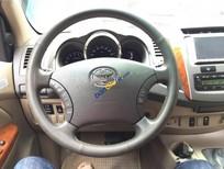 Cần bán xe Toyota Fortuner V 2009, màu đen chính chủ