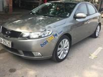 Bán Kia Cerato MT đời 2009, màu xám, nhập khẩu số sàn