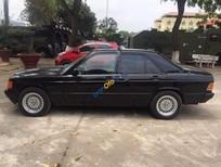 Bán xe cũ Mercedes 190E đời 1990, màu đen, nhập khẩu