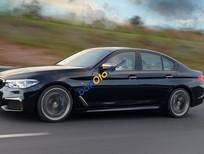 Bán BMW 5 Series 520D Luxury đời 2017, màu xanh đen, xe nhập