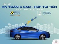 Bán Honda City 1.5 AT năm sản xuất 2017, màu xanh lam, giá 583tr