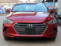 Bán xe Hyundai Elantra 1.6 AT năm 2017, màu đỏ, 649 triệu