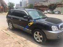 Chính chủ bán Hyundai Santa Fe AT 2008, màu đen, 345tr
