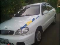 Xe Daewoo Lanos G sản xuất năm 2002, màu trắng, nhập khẩu nguyên chiếc