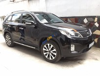 Cần bán xe Kia Sorento AT năm 2015, màu đen xe gia đình