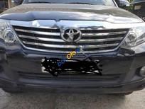 Cần bán Toyota Fortuner V 4x2AT đời 2012, màu đen chính chủ