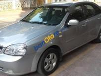 Bán xe Daewoo Lacetti MT đời 2009, màu bạc
