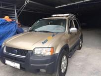 Bán Ford Escape năm sản xuất 2002, màu vàng cát, chính chủ, 210 triệu