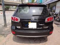 Cần bán Hyundai Santa Fe CRDi năm sản xuất 2008, màu đen, nhập khẩu số tự động, giá chỉ 530 triệu
