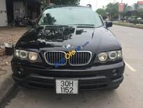 Bán ô tô BMW X5 năm 2003, màu đen, nhập khẩu