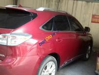 Bán Lexus RX450 năm sản xuất 2010, màu đỏ, nhập khẩu