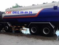 Bán xe Bồn xăng dầu Deawoo 4 chân 22 khối, giá mềm, trả góp TQ