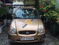 Bán Hyundai Atos sản xuất năm 2002, màu nâu, xe nhập xe gia đình, 160 triệu