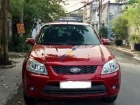 Gia đình bán xe cũ Ford Escape 2.3L đời 2010, màu đỏ