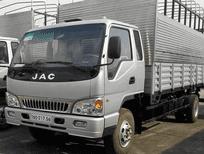 Bán xe tải JAC 2,4 tấn, xe tải công nghệ isuzu mới ga cơ mạnh mẽ