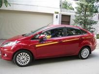 Cần bán lại xe Ford Fiesta 1.6 AT đời 2012, màu đỏ, giá chỉ 377 triệu