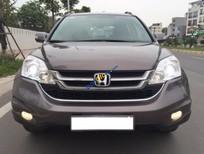 Cần bán xe Honda CR V 2.4AT sản xuất 2012, màu nâu chính chủ, 710 triệu