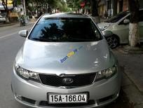 Cần bán Kia Forte SLi đời 2010, màu bạc, xe nhập, 410 triệu