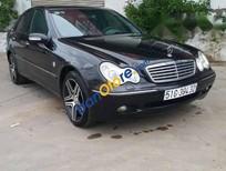 Cần bán gấp Mercedes C180 đời 2003, màu đen, nhập khẩu số tự động, giá 259tr