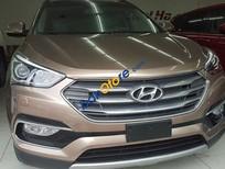 Bán xe Hyundai Santa Fe 4WD đời 2017, màu nâu, giao xe ngay