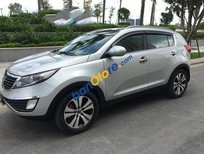 Cần bán Kia Sportage AT năm 2013, màu bạc đã đi 40000 km