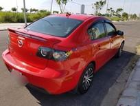 Bán Mazda 3 1.6 AT đời 2009, màu đỏ, xe công chức sử dụng, giữ gìn kỹ, mới đi 7 vạn