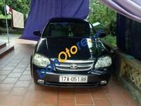 Bán ô tô Daewoo Lacetti MT năm 2008, màu đen chính chủ, giá tốt