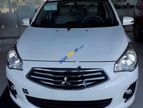 Cần bán xe Mitsubishi Attrage 1.2CVT đời 2017, màu trắng, xe nhập giá cạnh tranh