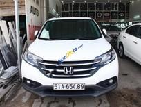Bán Honda CR V 2.4 sản xuất 2013, màu trắng, xe đẹp
