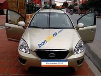 Bán Kia Carens 2.0 2011, màu vàng số sàn