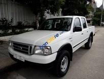 Gia đình bán xe Ford Ranger XL 4x4MT đời 2006, màu trắng