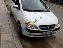 Bán Hyundai Getz 1.1 đời 2011, màu trắng số sàn