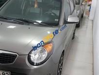 Cần bán gấp Kia Morning SLX 1.0 AT sản xuất 2010, màu xám, xe nhập