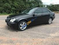 Cần bán gấp Mercedes C180 năm 2002, màu đen số tự động