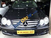 Bán Mercedes CLK 350 đời 2007, màu đen, động cơ V6 3.5 L