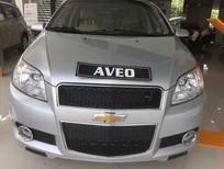 Bán xe Chevrolet Aveo LT 2018, màu bạc