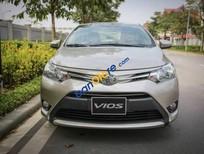 Cần bán xe Toyota Vios 1.5E MT năm sản xuất 2017, màu vàng