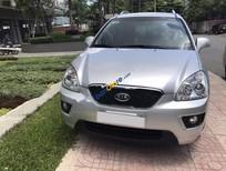 Bán Kia Carens SX đời 2013, màu bạc, bảo hiểm còn đủ, 2 chìa khóa zin