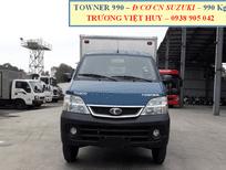 Xe tải 1 tấn Towner 990, động cơ mới nhất CN Suzuki Nhật, bản tiêu chuẩn Euro 4, giá cạnh tranh