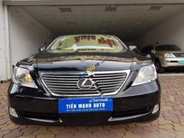 Cần bán Lexus LS 460L đời 2007, màu đen, nhập khẩu nguyên chiếc