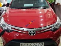 Bán ô tô Toyota Vios 1.5G đời 2014, màu đỏ, giá 505tr