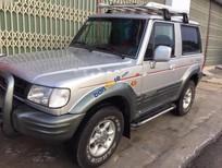Bán Hyundai Galloper sản xuất 2002, màu bạc, nhập khẩu nguyên chiếc