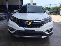 Bán gấp Honda CR V 2.4 đời 2015, màu trắng