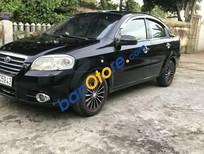 Cần bán lại xe Daewoo Gentra năm 2007, màu đen giá cạnh tranh