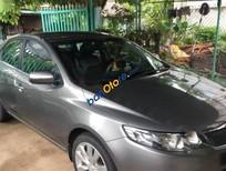 Cần bán lại xe Kia Forte đời 2012, màu xám còn mới
