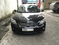 Cần bán xe Toyota Corolla altis G 2010, màu đen